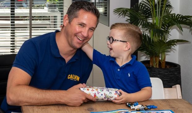 Vele vaders krijgen kunnen zondag een cadeautje en knuffel tegemoetzien.