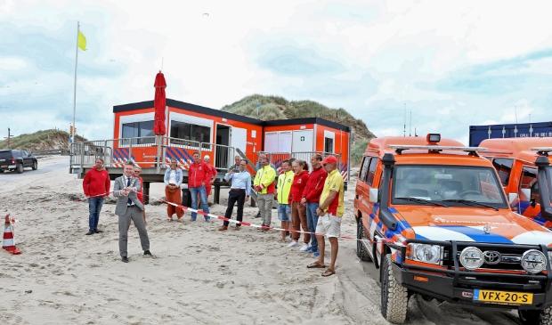 Woensdag 1 juli werden de voertuigen en de nieuwe post officieel overgedragen aan de Schoorlse brigade.