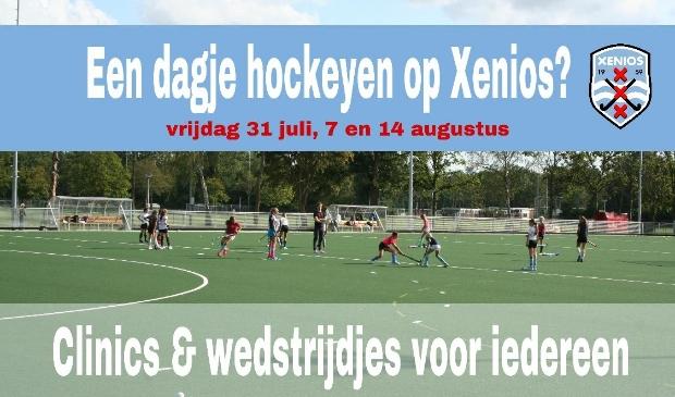 Dagje hockeyen op Xenios
