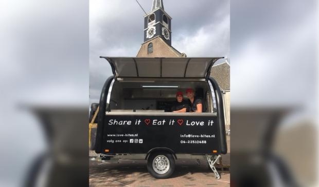 Lovebites Foodtruck rijdt 16 en 17 juli door Landsmeer.