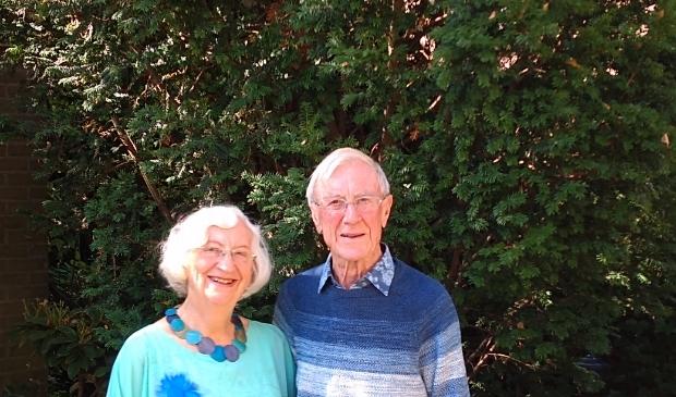 Het echtpaar Marx-van Putten: 60 jaar getrouwd.