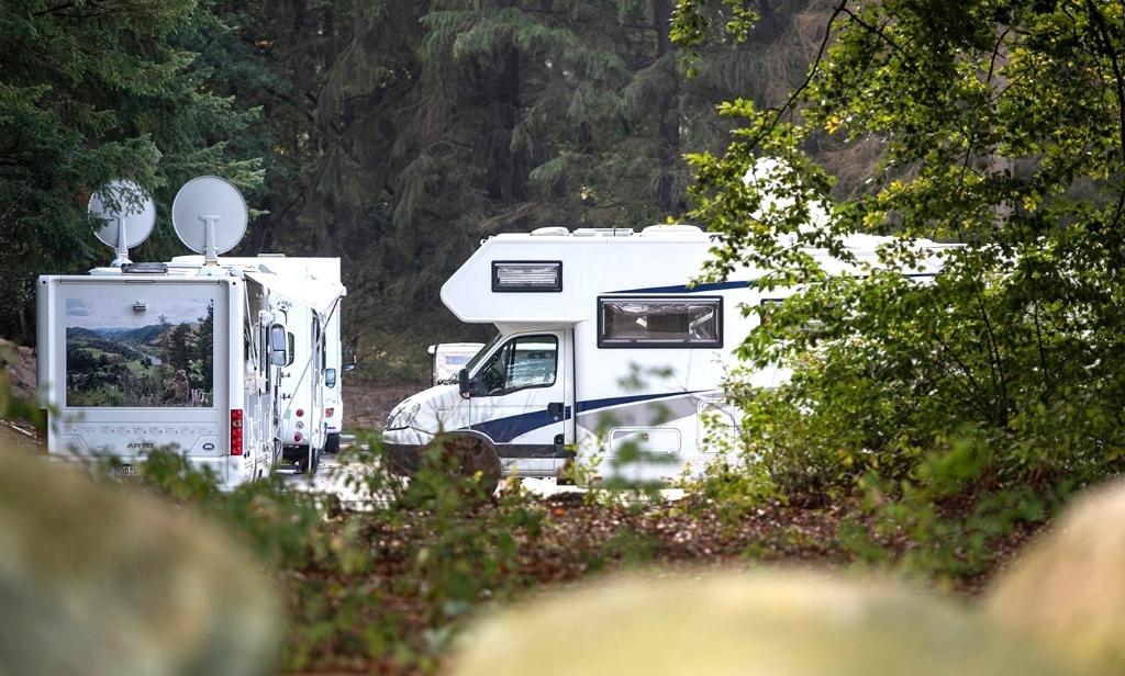 Camperplaatsen op Artland. (Foto: ) © rodi