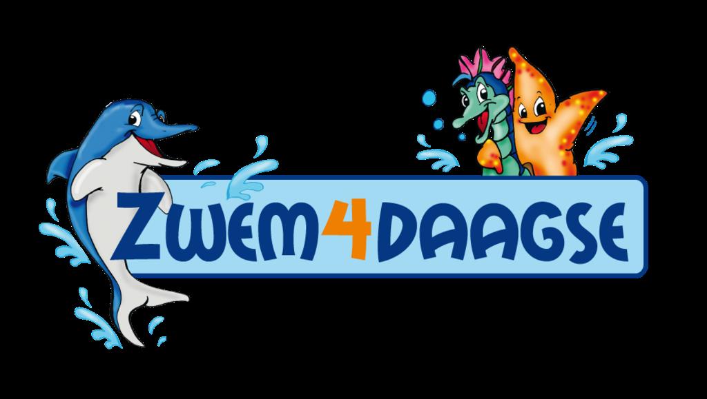 Het logo van de Zwem4daagse. (Foto: Aangeleverd) © rodi