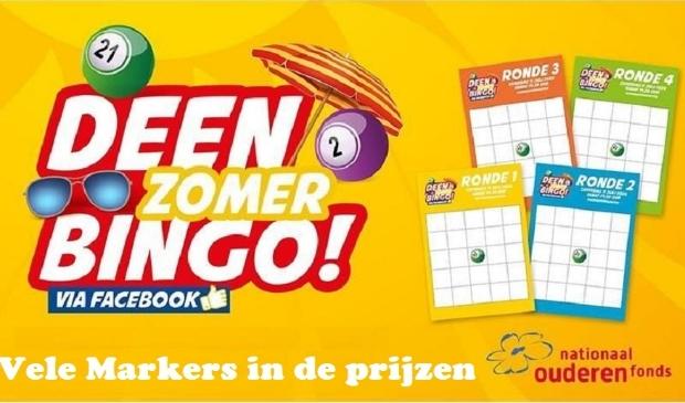 Vele Markers vielen in de prijzen bij de Deen Zomer Bingo.