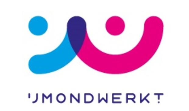 Het logo van IJmond Werkt!