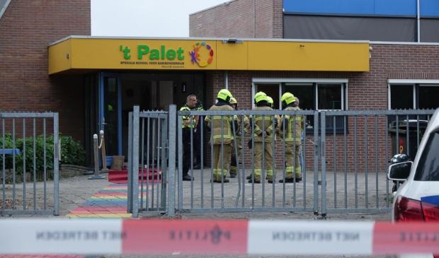 Politie en brandweer onderzoeken woensdagavond hoe het kon gebeuren.