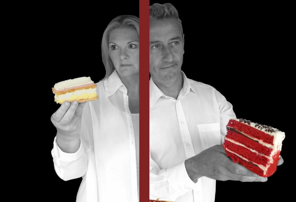 Relaties vergelijken met taarten? (Foto: aangeleverd) © rodi