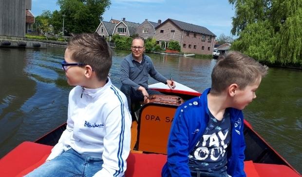 Lekker varen met het gezin.