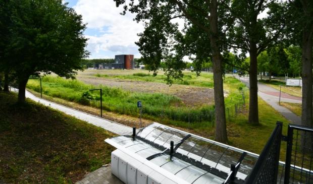 Het Kogerveld krijgt veel woningen erbij de komende jaren, onder meer op deze bouwlocatie.