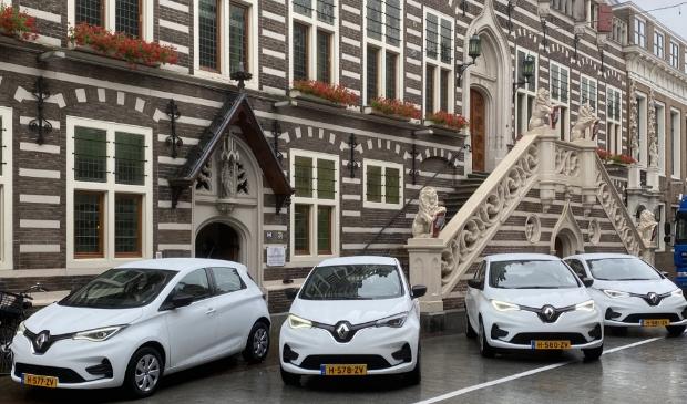 Gemeente Alkmaar nam vier Renault Zoë's in ontvangst.