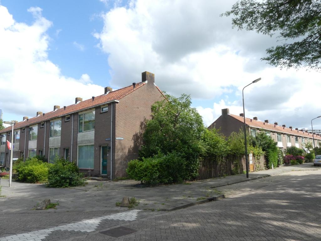 De woningen aan de Boeierstraat maken plaats voor nieuwbouw. (Foto: Cees Bandt ) © rodi