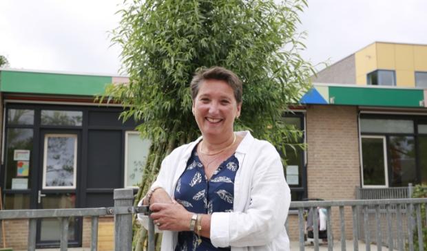 Ariane Breimer, kersverse directeur van IKC Oudkarspel is trots op de nieuwe KanZ-klas.