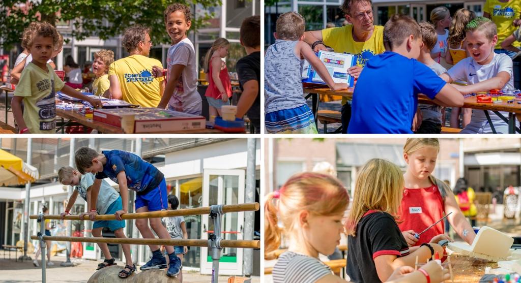 Kinderen kunnen aan allerlei activiteiten deelnemen. (Foto: Aangeleverd) © rodi