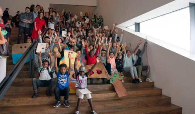 Leerlingen van de SKC Zomerschool 2019.