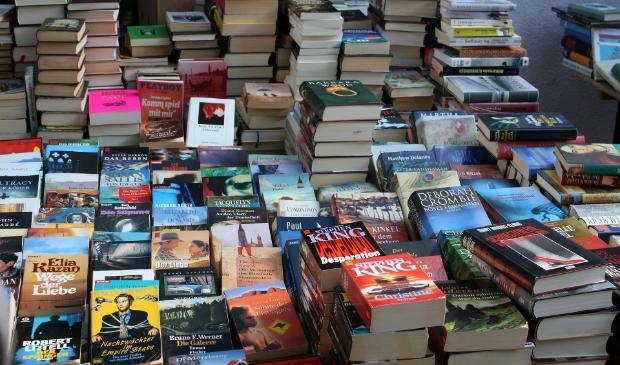 <p>Er is te genieten van kunst maar vooral van veel boeken. &nbsp;</p>