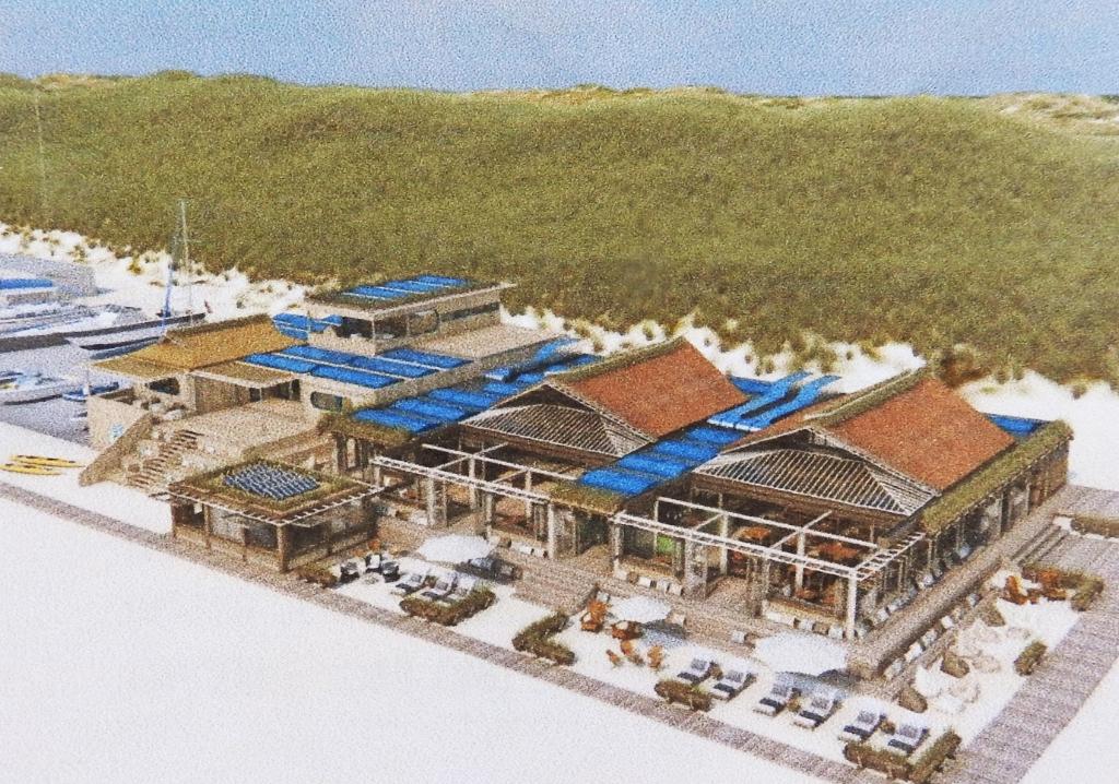 Impressie van het gezamenlijke paviljoen. <p>(Foto: BINT Architecten)</p> © rodi