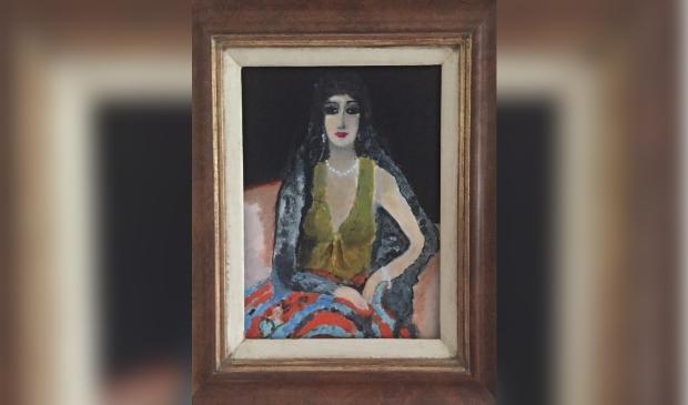<p>Roos de Waal met vrouwenportretten geschilderd naar Mattisse, Sluiters en van Dongen. (Foto: aangeleverd)</p>