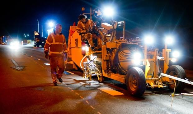 <p>Er staan nachtelijke werkzaamheden geplaatst aan de N242.</p>
