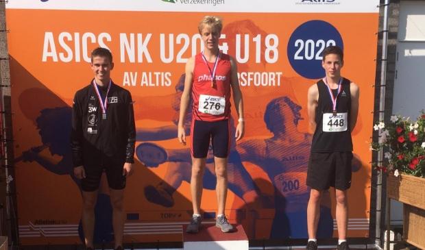 <p>Seb Wals won brons.</p>