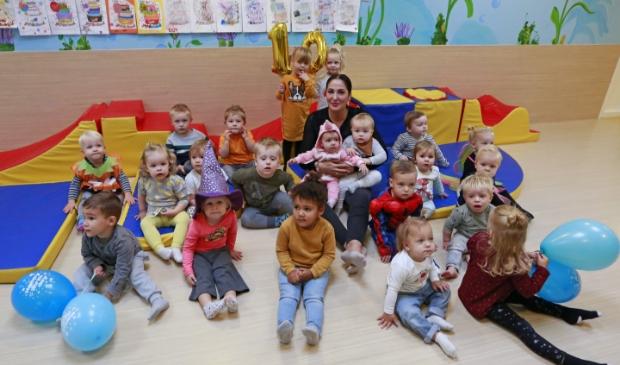 De kinderen van 't Schelpje vieren een week lang feest!