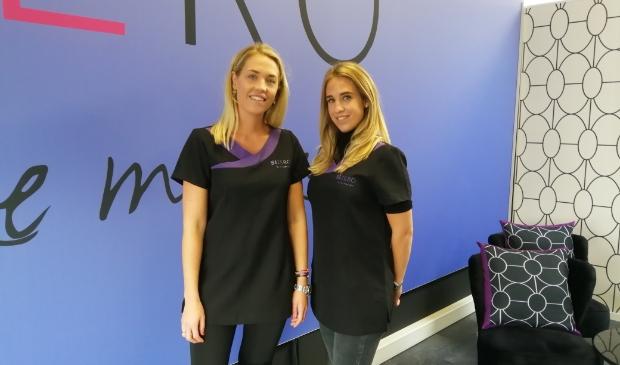 <p>Tamara en Melissa zijn de eigenaars van de nieuwe afslankstudio.</p>