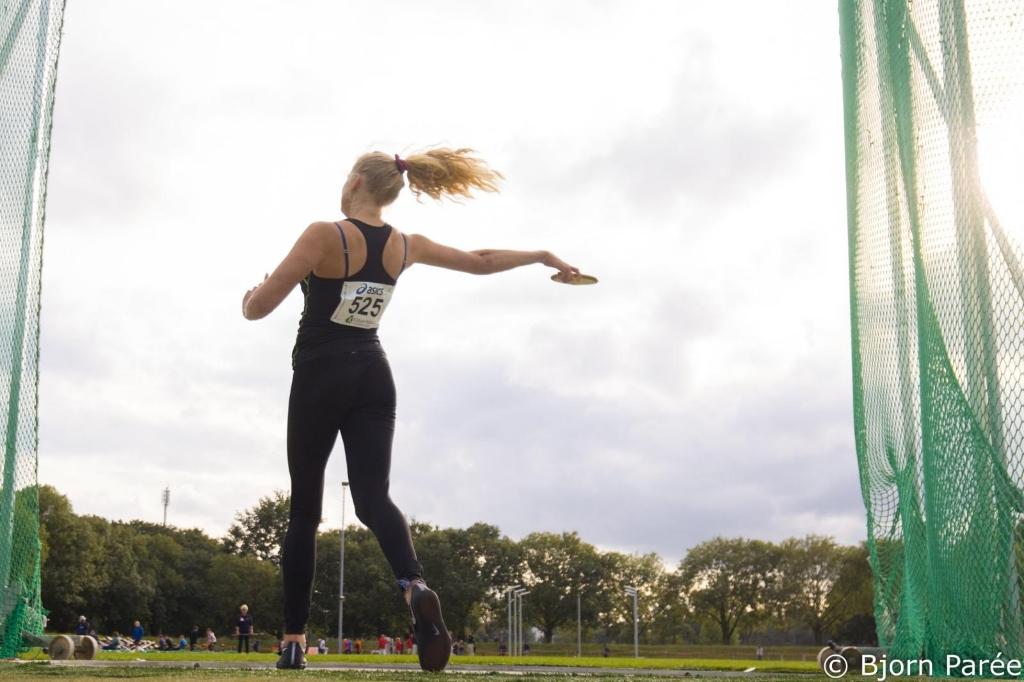<p>Annika Klooster in actie</p> ((Foto: aangeleverd)) © rodi