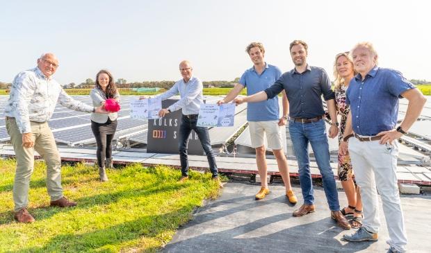 <p>Eerste bijdrage &lsquo;Fonds zonneparken Schagen&rsquo;</p>