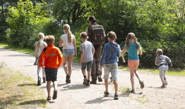 <p>Wandeling met de boswachter.</p>