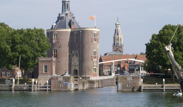 <p>Historische binnenstad Enkhuizen.</p>