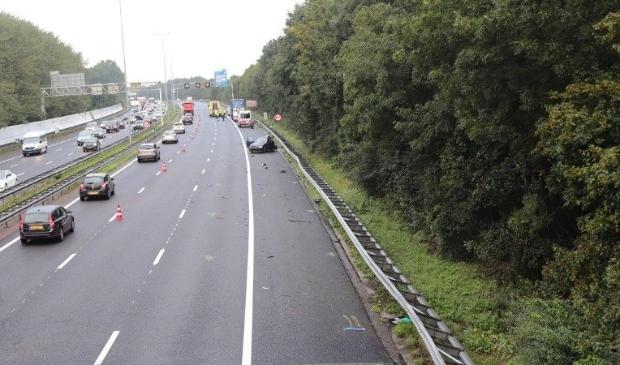<p>De politie zoekt getuigen van het ongeval op de a10 vlak voor afslag Volendam.&nbsp;</p>