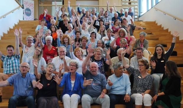 De vrijwilligers van Huis van Hilde.