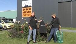 Verver Export steunt Sigrid in haar strijd tegen zwerfafval