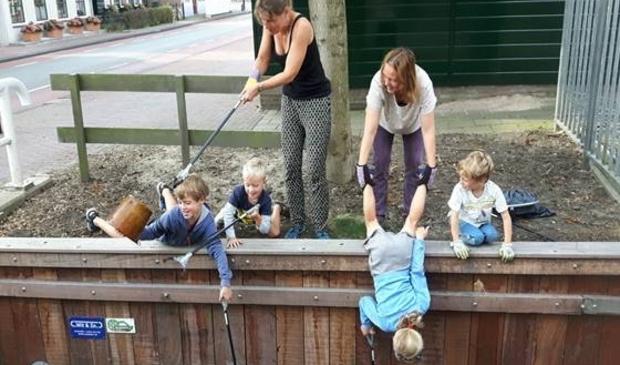 <p>Jong en oud kunnen aan de actie deelnemen.</p>