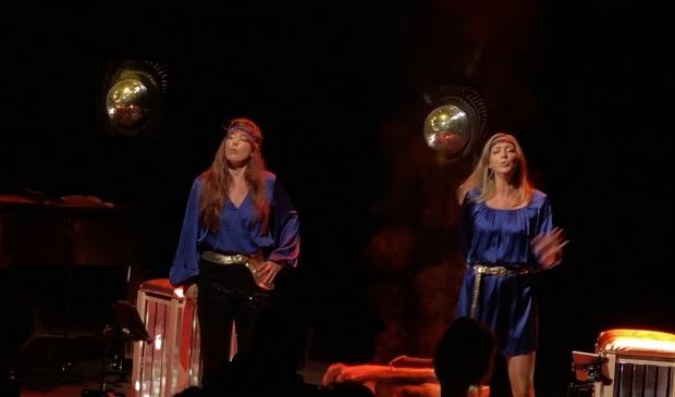 Het was niet de eerste keer dat de zussen samen zongen.