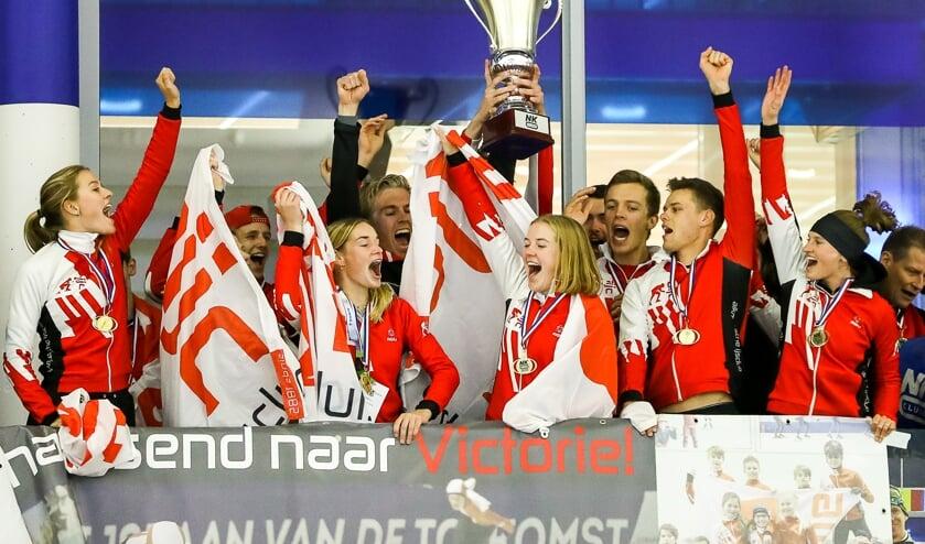 De Alkmaarsche IJsclub won het NK Clubs in 2019