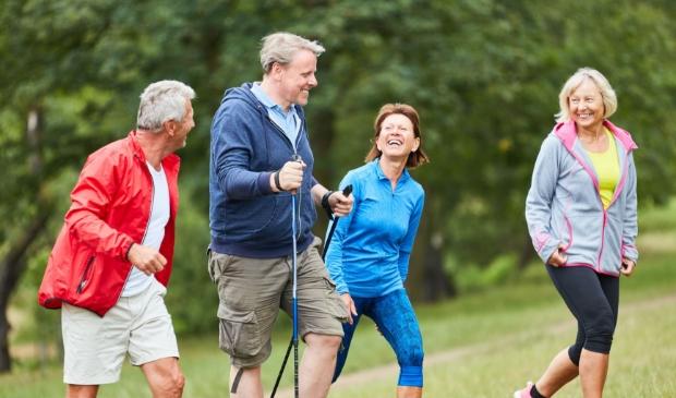 <p>Samen sporten heel veel voordelen.</p>