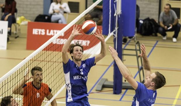 <p>Compaen liet solide en daadkrachtig volleybal zien.</p>