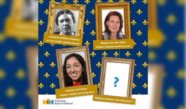 """<p pstyle=""""PLAT"""">Meld een kandidaat aan via www.penning.noord-holland.nl.</p> (Foto: Aangeleverd) © rodi"""
