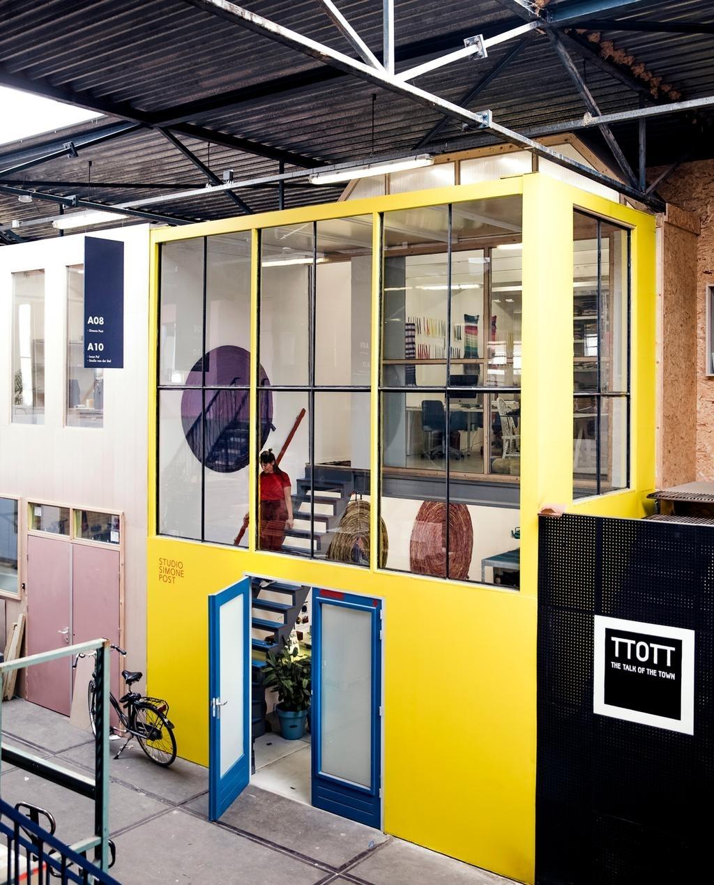 <p>atelier simone post</p> ((Foto: ernie enkelaar)) © rodi
