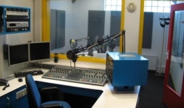 <p>Studio van Radio Beverwijk.</p>