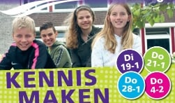 Voorlichting Bernard Nieuwentijt College Monnickendam