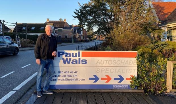 <p>Paul Wals is 50 jaar autoschadespecialist</p>