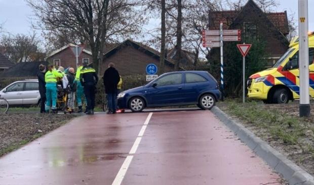 Op de ovonde tussen Oudkarspel en Noord-Scharwoude vond een aanrijding plaats tussen een fietsster en een automobiliste.