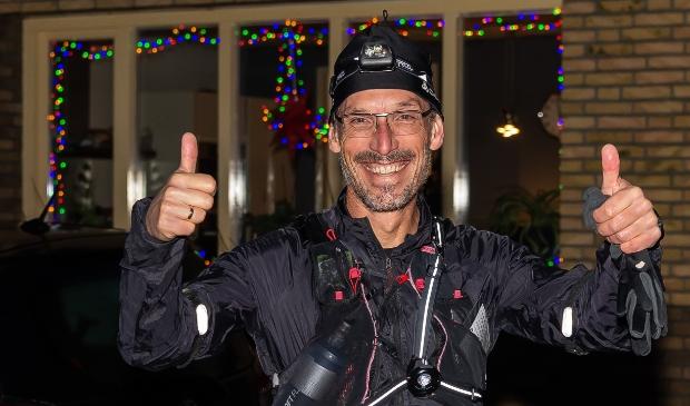 <p>Jeroen Kuyper liep vorige week 24 uur lang hard door Purmerend en omstreken </p>