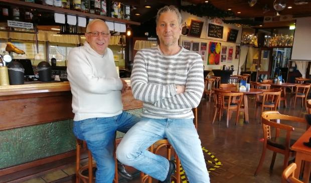 <p>Coen en Dennis Kollen</p>