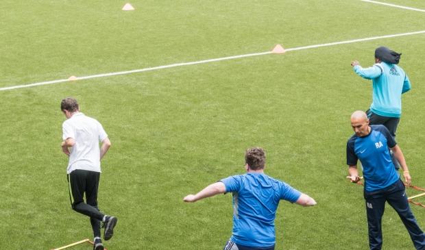 <p>Met onder andere sport worden jongeren gemotiveerd.</p><p><br></p>