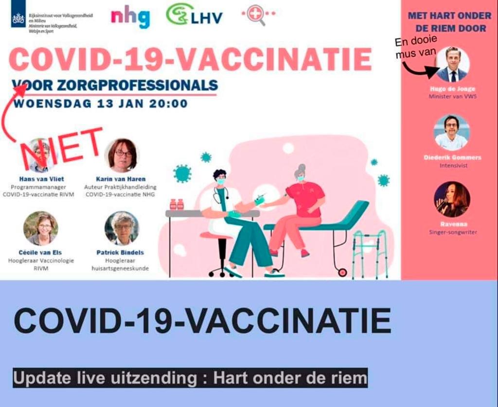 <p>De toegezegde vaccinatie voor zorgprofessionals als huisartsen en assistenten gaat niet door...&nbsp;</p> <p>(Foto: aangeleverd)</p> © rodi
