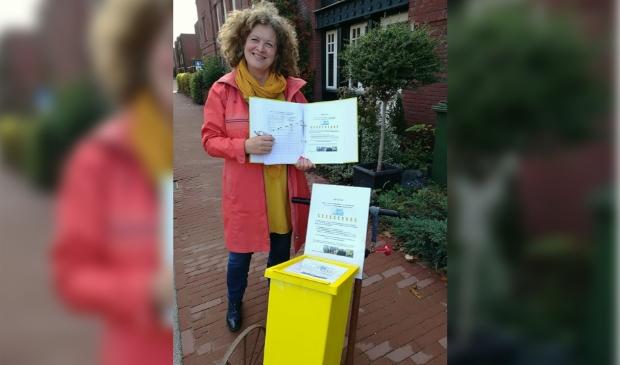 <p>Voor Jorine van Hooijdonk wordt aan de Laan van Verdienste in het Sloterpark een Boom van Verdienste met haar naam erbij geplaatst.&nbsp;</p>