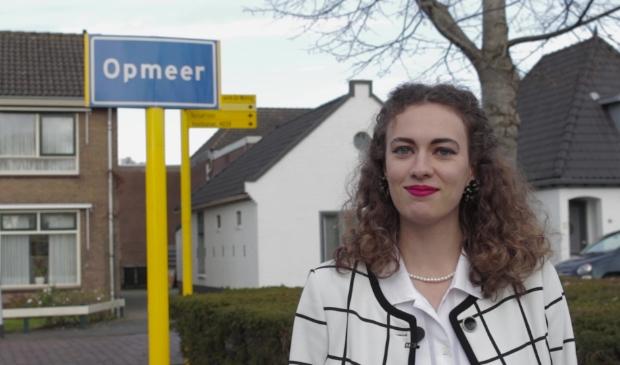 <p>Elise Salman wil jongste vrouwelijke burgemeester ooit worden!</p>