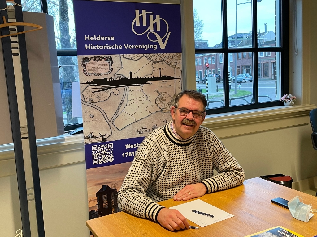 <p>Voorzitter Frans van de Wetering van de HHV.</p> (Foto: JB/RM) © rodi